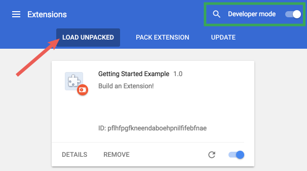 Chrome Extension: Getting Started