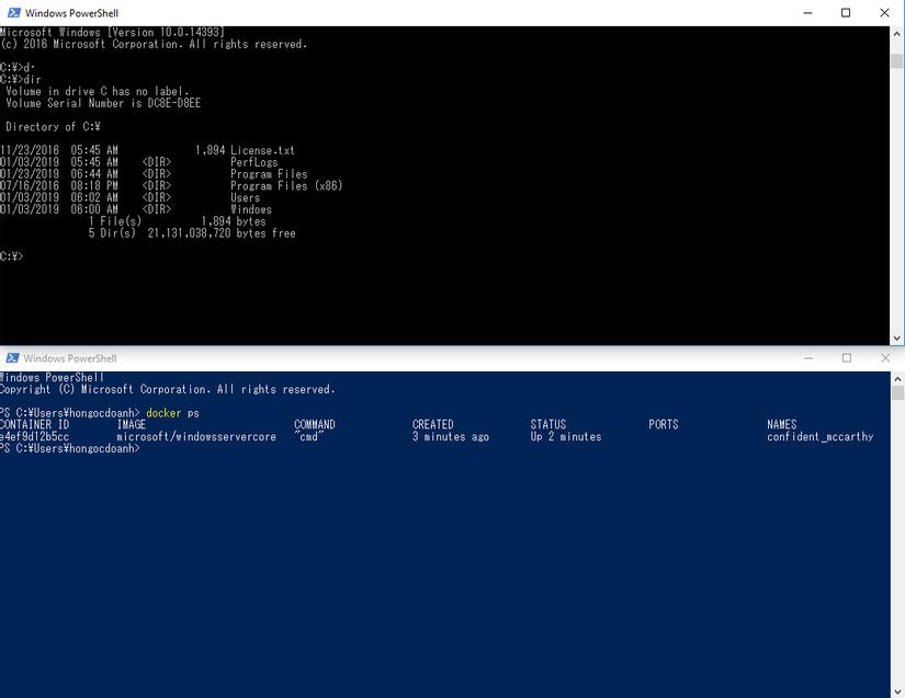 Docker Windows Container cho IIS website - Viblo