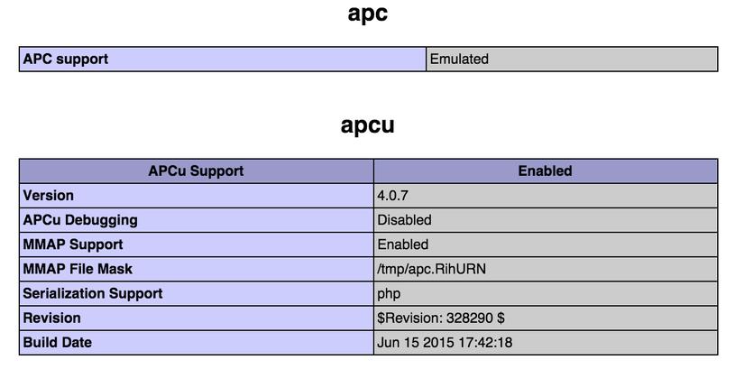 APC Information