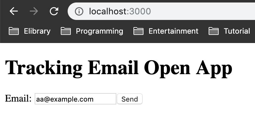 tracking email open app
