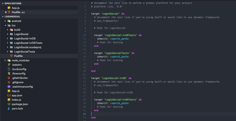 Login Social React Native with FireBase - dành cho iOS   TopDev