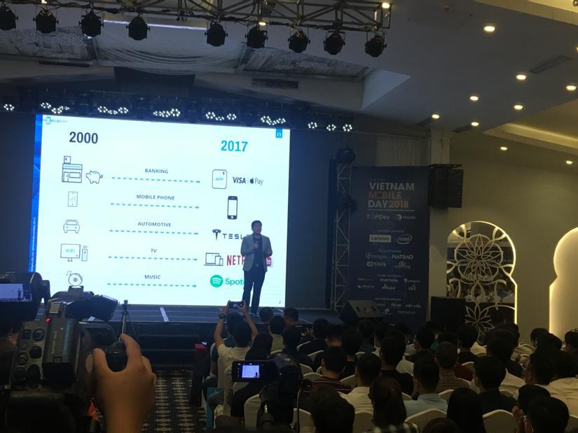 Anh Dương Thành Trung, quản lý bộ phận Consumer Insights, Nielsen Vietnam