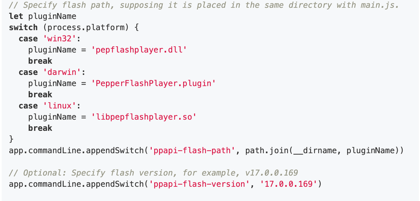Electron + flash Implement