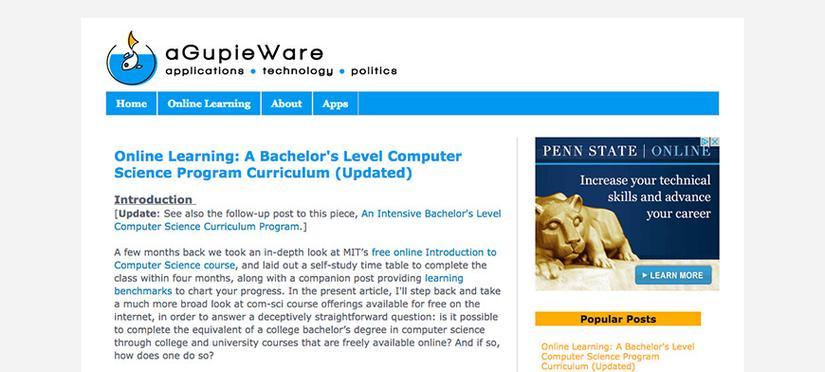 trang Web tự học lập trình