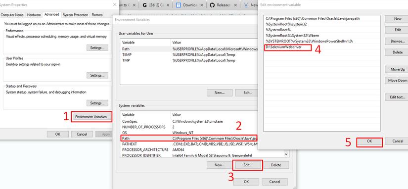 [Selenium Webdriver] Cài đặt môi trường cho Selenium Webdriver trên Eclipse