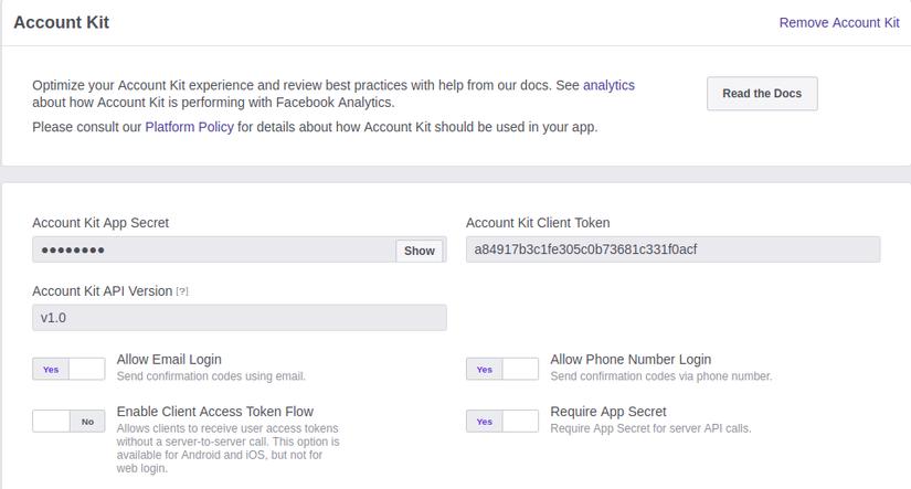 Sử dụng Facebook AccountKit để xác thực số điện thoại - Viblo