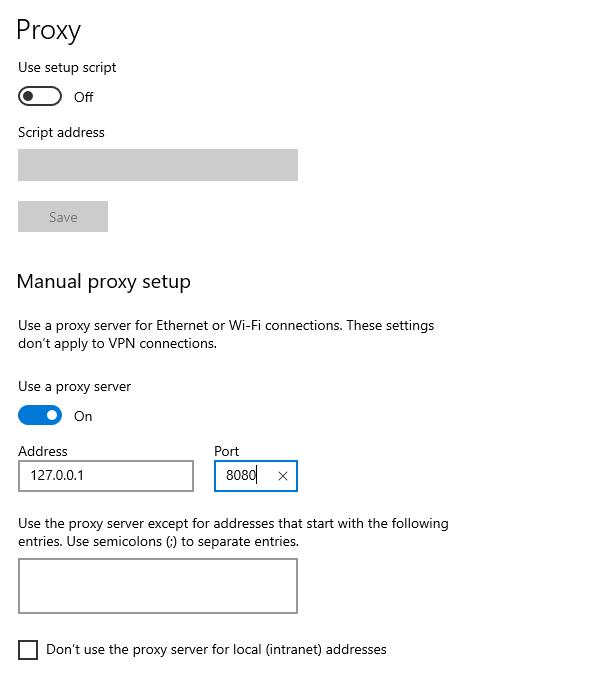 Chrome Proxy