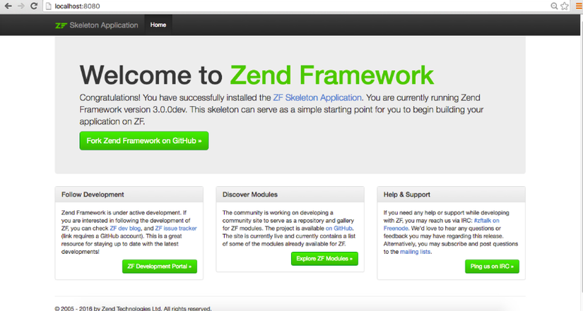 Start with Zend Framework 3 (Part I) - Viblo