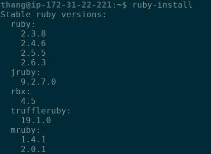 ruby-install