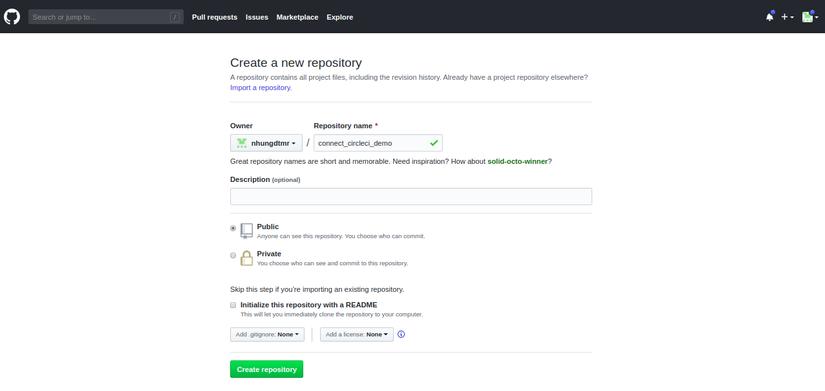 Ruby on Rails: Connect CircleCI với Github