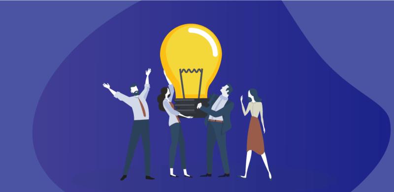 Light bulb and app idea