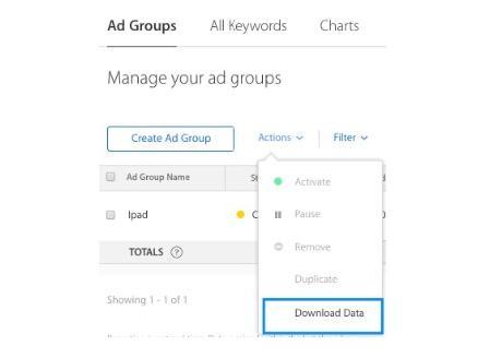 Số liệu quảng cáo tìm kiếm và KPI của Apple để theo dõi