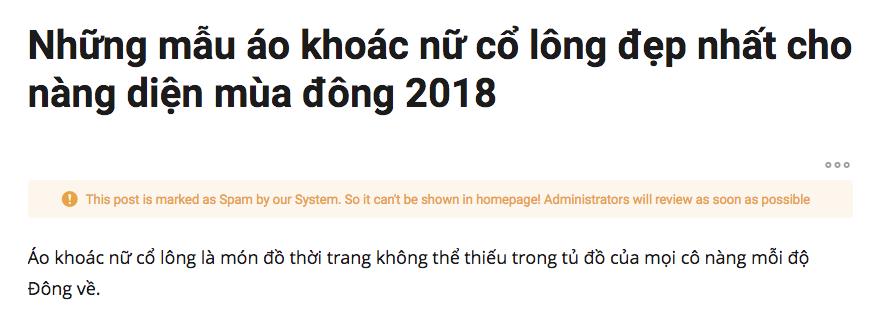 viblo-spam