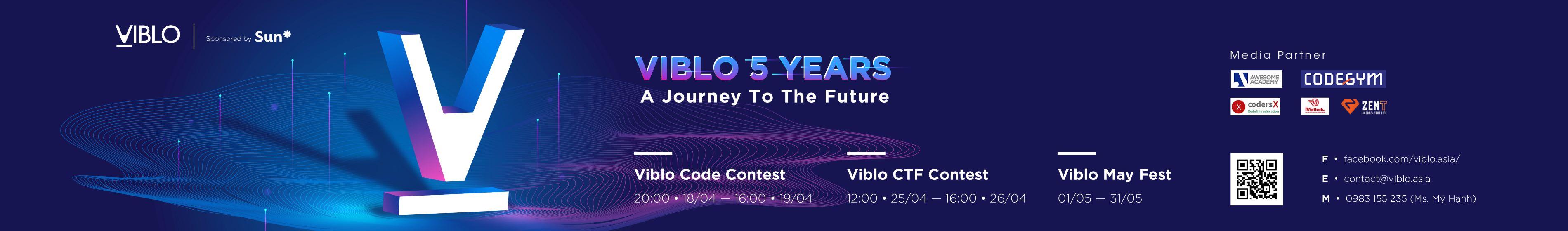 Viblo 5 Years